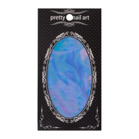 Pretty Nail Art Foil Blue